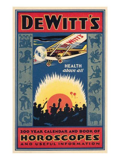 Dewitt's Horoscope Book--Art Print