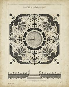 Garden Parterre VIII by DeZallier d' Argenville