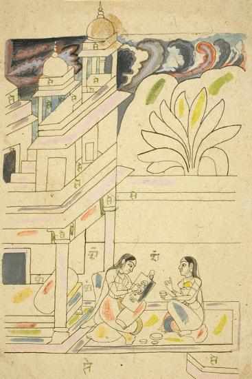 Dhanasri Ragini, 18th Century--Giclee Print
