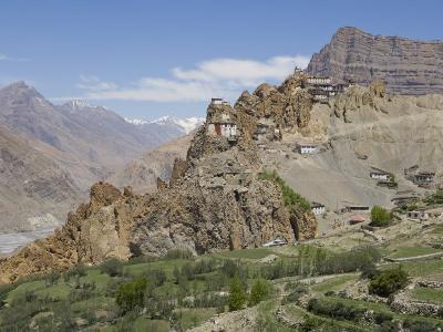 Dhankar Monastery, Spiti, Himachal Pradesh, India-Simanor Eitan-Photographic Print