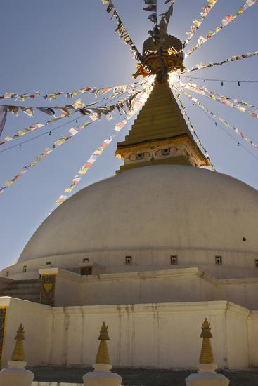 Dhodina Chorten Is Modeled on the Stupa of Boudhanath. Thimphu, Bhutan-Howie Garber-Photographic Print