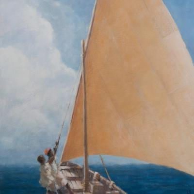 Dhow, Kilifi, 2012-Lincoln Seligman-Premium Giclee Print