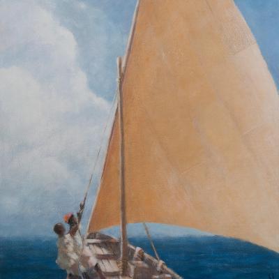 Dhow, Kilifi, 2012-Lincoln Seligman-Giclee Print