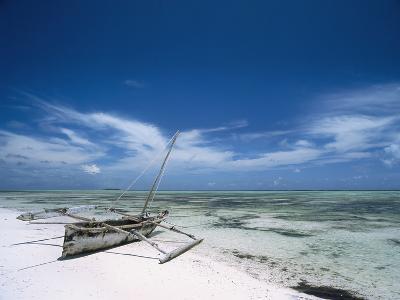 Dhow on Matemwe Beach-Design Pics Inc-Photographic Print