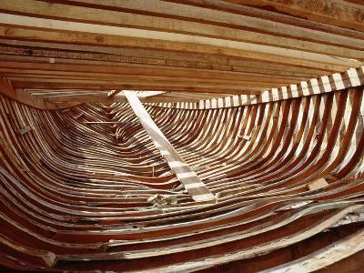 Dhows are Still Constructed Using the Traditional Methods at Ajman Wharf, Using Woods Brought…--Giclee Print
