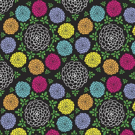 Dia De Los Flores-Joanne Paynter Design-Giclee Print