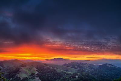 Diablo Awakens, Epic San Francisco Bay Area Sunrise-Vincent James-Photographic Print