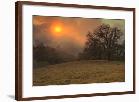 Diablo Sunscape-Vincent James-Framed Photographic Print