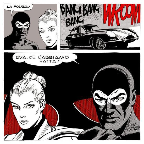 Diabolik: Eva, Ce l'Abbiamo Fatta!--Art Print