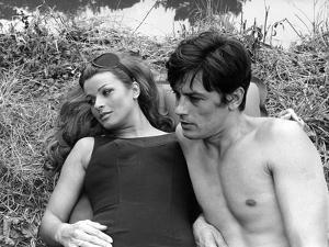 Diaboliquement votre Diabolically Yours by Julien Duvivier with Senta Berger and Alain Delon., 1967