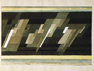 Diagonal-Medien-Paul Klee-Giclee Print
