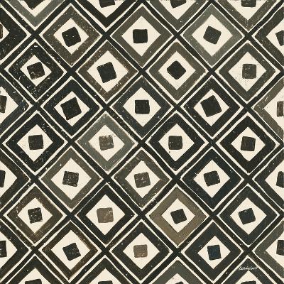 Diagonal Squares Light-Kathrine Lovell-Art Print