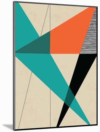 Diagonal Unity-Rocket 68-Mounted Giclee Print