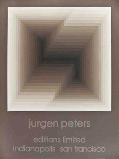 Diagonal-Jurgen Peters-Collectable Print