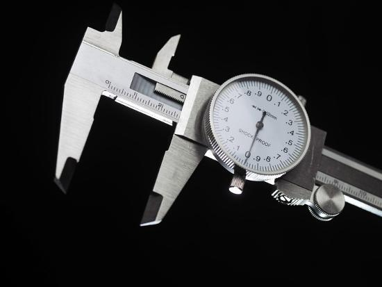 Dial Calipers-Tek Image-Photographic Print