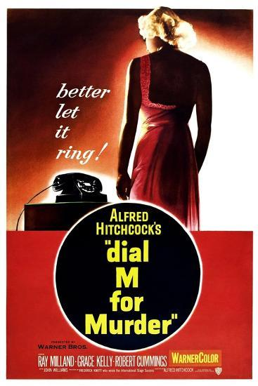Dial M for Murder, 1954--Giclee Print