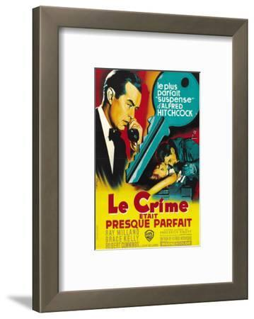 Dial M For Murder, French Movie Poster, 1954