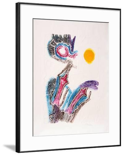 Dialogando en Amarillo-Stephan Strocen-Limited Edition Framed Print