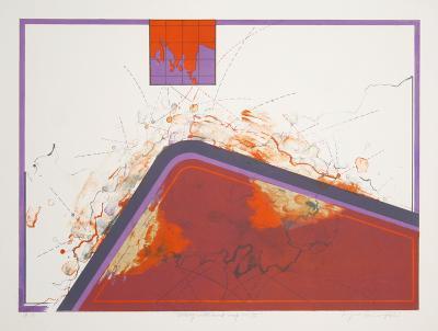 Dialogue with Mindmap 15-Kyme Sarlei-Serigraph