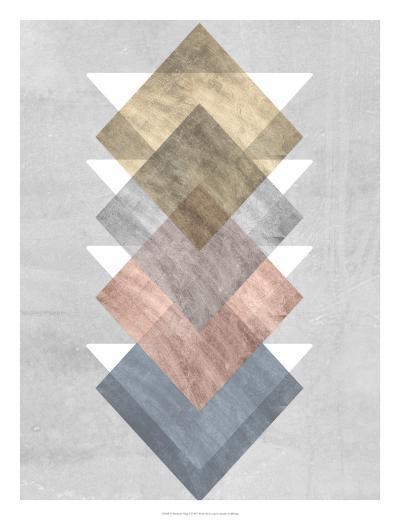 Diamond Allign I-Jennifer Goldberger-Art Print