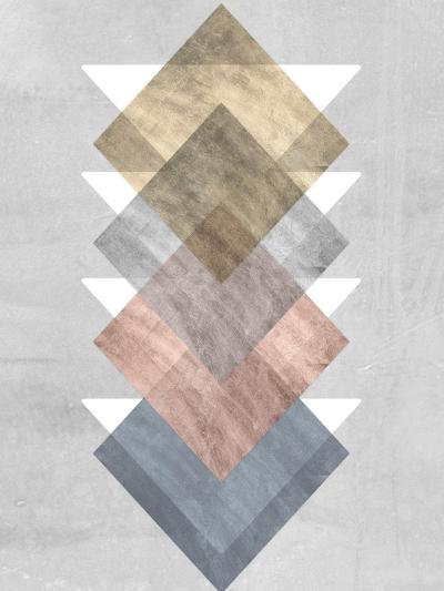 Diamond Allign I-Jennifer Goldberger-Art Print