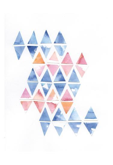 Diamond Cluster 2-Pam Varacek-Art Print