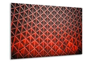 Diamond Flames-Adrian Campfield-Metal Print