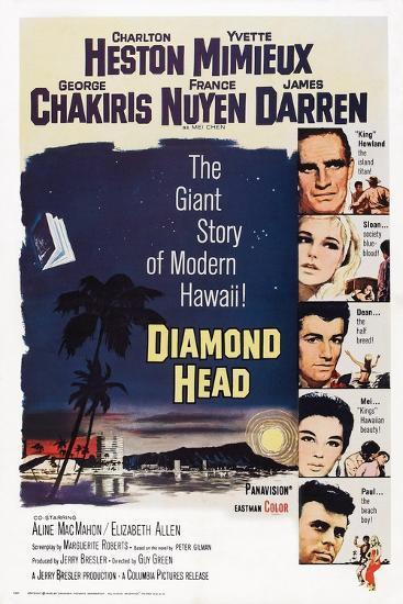 Diamond Head, 1963--Art Print