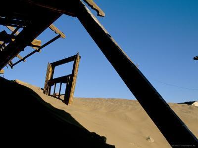 Diamond Mining Ghost Town, Kolmanskop, Namib Desert, Luderitz, Namibia, Africa-Steve & Ann Toon-Photographic Print