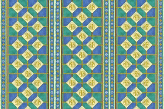 Diamond Pattern-Maria Trad-Giclee Print