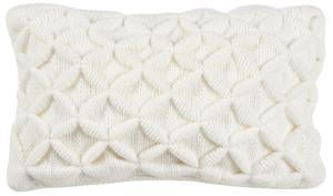 Diamond Puff Knit Pillow - 12x20