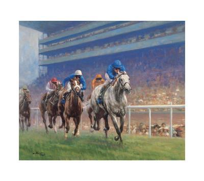 Diamond Stakes Ascot, 1999-Graham Isom-Collectable Print