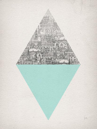 Diamond-David Fleck-Art Print