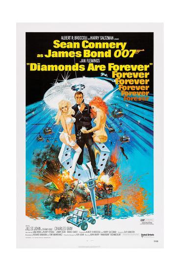 Diamonds are Forever, Sean Connery, 1971--Giclee Print