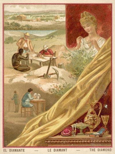 Diamonds--Giclee Print