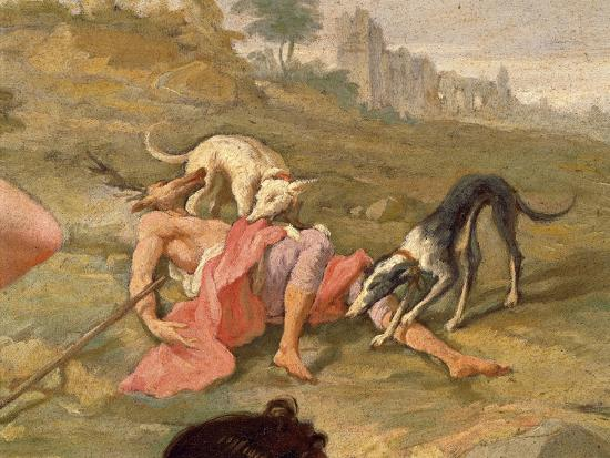 Diana and Actaeon, 1721-Giovanni Battista Pittoni the Younger-Giclee Print