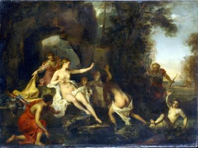 Diana and Actaeon, 1732-Louis Galloche-Giclee Print