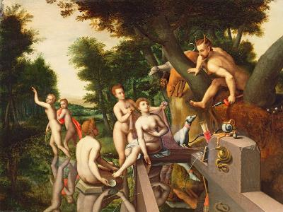 Diana and Actaeon-Francois Clouet-Giclee Print
