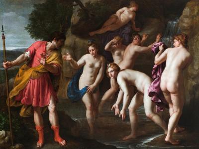 Diana and Actaeon-Alessandro Turchi-Giclee Print
