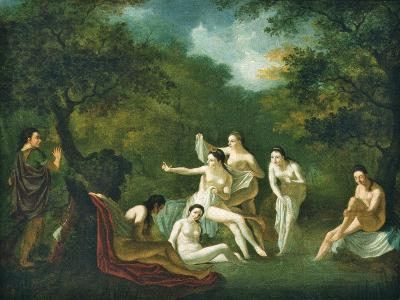 Diana and Actaeon--Giclee Print