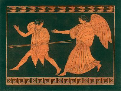 Diana and Angel-Sir William Hamilton-Giclee Print