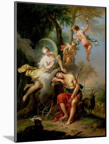 Diana and Endymion-Frans Christoph Janneck-Mounted Premium Giclee Print