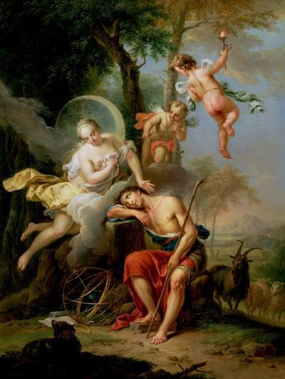 Diana and Endymion-Frans Christoph Janneck-Giclee Print