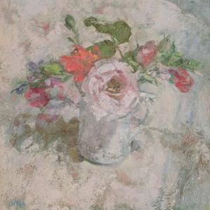 The Perfumed Rose in a Summer Bunch by Diana Armfield