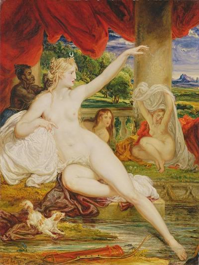 Diana at the Bath, 1830-James Ward-Giclee Print