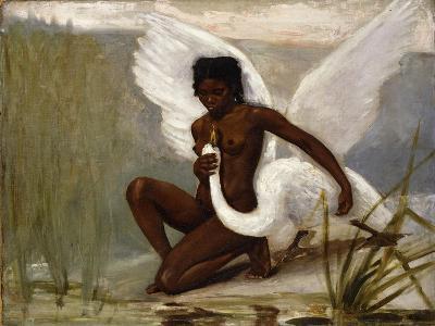 Diana Bathing-Jacques Fernand Hymbert-Giclee Print