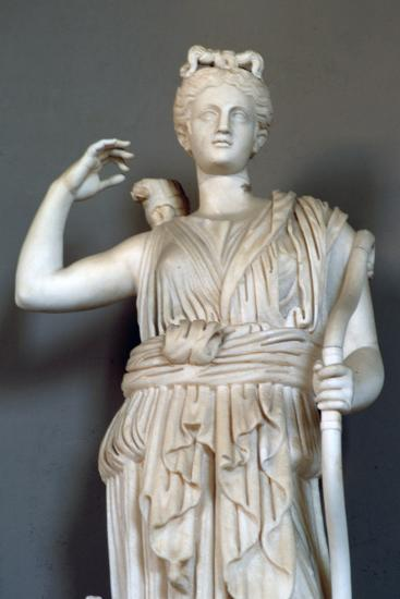 Diana, (Detail), Goddess of Hunting, Vatican Museum--Photographic Print