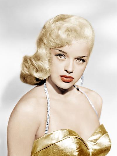 Diana Dors, Universal Pictures portrait, ca. 1957--Photo