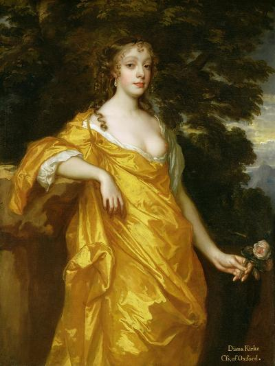 Diana Kirke, Later Countess of Oxford, c.1665-70-Sir Peter Lely-Giclee Print