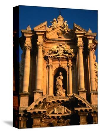 Baroque Facade of Il Duomo, Syracuse, Sicily, Italy